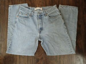 Levis 550 Relaxed Fit Jeans Mens Size 32x30 Blue