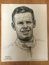 Bobby Unser 1976 Goodyear Tire & Rubber Company 8 x 10 Print Stock Car Racing
