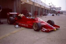 PHOTO  SILVERSTONE TEST DAY 2.10.87 GILES BUTTERFIELD WAS A RACING FOR BRITAIN A