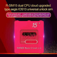 R-SIM15 Nano Unlock RSIM Card For iPhone 11 Pro XS Max XR 8 7 6s Plus iOS13 UK