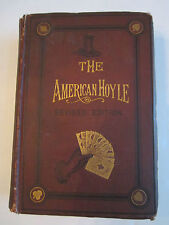 1880 THE AMERICAN HOYLE POKER BOOK - REVISED EDITION -  TUB BB-3A