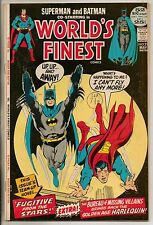 DC Comics Worlds Finest #211 May 1972 Superman & Batman Giant Size VF