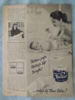 1950 Magazine Advertisement Page Scott Waldorf Toilet Paper Rit Tints & Dyes Ad