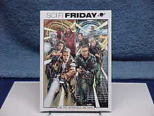 2002 Stargate Sg-1 & Farscape Sci-Fi Friday Tv Promo Postcard Neal Adams Art