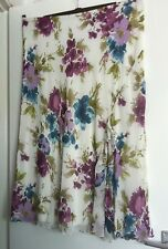 Bhs- Sophie Grey Secret Garden Skirt Size 18
