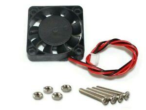 Case Fan 5V 0.1A 40mm x 40mm x10mm Brushless 4010 PC Fan cooler 2 pin+bolts inc