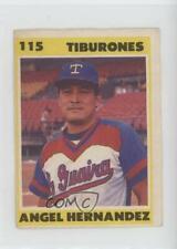 1987-88 Venezuelan Winter League Stickers Angel Hernandez #115
