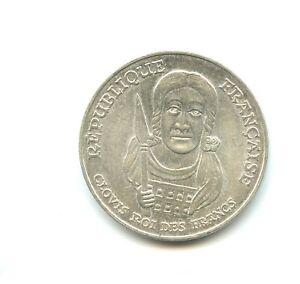 100 francs argent Clovis 1996 n°E5544