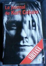 LE JOURNAL DE  KURT COBAIN-Un document remplis par ses dessins, ses textes...