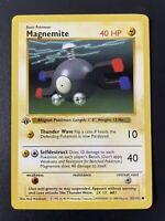 1999 Pokemon Base Set 1st Edition Magnemite 53/102 Near Mint NM PSA Ready WOTC