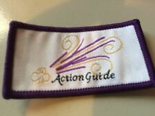 Girl Guides / Scouts Action Guide Purple
