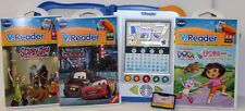 VTech V.Reader Animated Interactive e-Reading Toy W/ 4 Cartridges - Educational