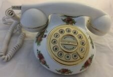 Vintage Royal Albert Country Rose Desk Phone