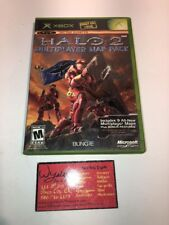 Halo 2 Multiplayer Map Pack (Microsoft Xbox, 2005) NEW *Halo 2 required to play*
