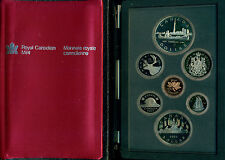1984 CANADA RCM DOUBLE DOLLAR PROOF SET, GREAT PRICE!