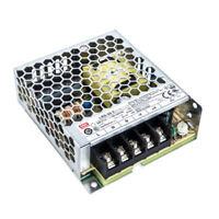 Mean Well 5V LRS-50-5 Netzteil 50W 10A Ultraflach 30mm 1HU Einbau-Metallgehäuse