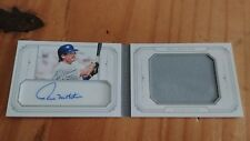 2015  PAUL MOLITOR National Treasures Booklet Game Used Jersey Auto.  8 / 10