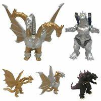 4Pcs Godzilla King Of The Monsters Ghidorah Mothra Model Action Figure Kids Gift