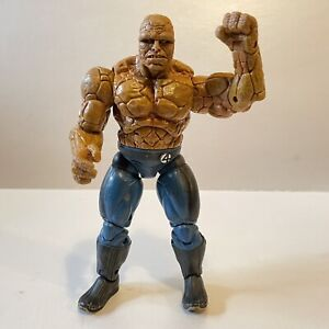 Fantastic Four The Thing Clobber N Crush Action Figure - Toy Biz 2005