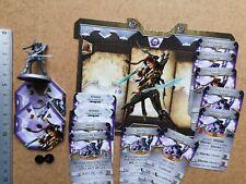 ARTEMIS HERO MINIATURE+ CARDS //SWORD & SORCERY/ANCIENT CHRONICLES G17