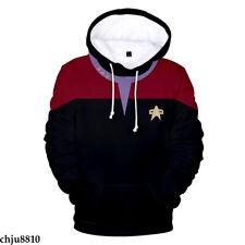 Star Trek Discovery Print Hoodies Pullover Sweatshirt Unisex Leisure Sweater