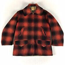 Mint Vintage 1950s Penney'S Buffalo Plaid Hunting Coat Jacket Mackinaw 38 40 50s