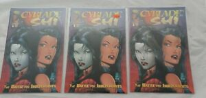 Cyblade / Shi: The Battle for Independents #1 (1995, Image) 3 copies NM