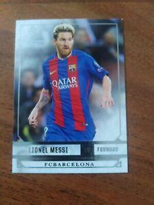 2016-17 Topps Showcase Lionel Messi FC Barcelona