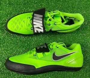 SZ 11.5 | Nike Zoom Rotational 6 Shotput Discus Throw Shoes Green | 685131-300
