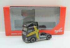 "1:87 EM3861 Herpa schwarz  Volvo FH Gl. XL Zugmaschine Performance Line"" NEU OVP"