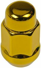 Dorman 711-235K Pack of 16 Gold Wheel Nuts and 4 Lock Nuts with Key