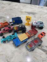 Lot of Vintage 70s, 80s Hot wheels cars Jeep Porsche Land Rover Corvette & More
