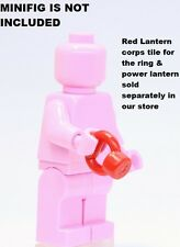 A270 Lego FIT CUSTOM Red Lantern Corps POWER RING weapon for superhero minifig