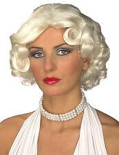 Hollywood Wig Flapper Marilyn Monroe Platinum Blonde Halloween Costume Accessory