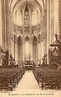 CPA 77 cathedrale de MEAUX la nef et le choeur