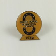Vintage 1985 Dover Downs International Speedway Nascar Racing Hat Pin Jacket