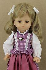 "19"" vinyl plastic sleepy eye German Gotz Puppe Collectible Girl Doll w hang tag"
