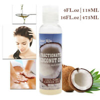 Fractionated Coconut Oil - 100% Pure Carrier Therapeutic Grade Oil 16oz, 4oz