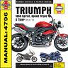 Triumph 1050 Sprint ST Sprint GT  2005 - 2013 Haynes Manual 4796 NEW
