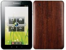 Skinomi Tablet Skin Dark Wood Cover+Clear Screen Protector for Lenovo IdeaPad A1