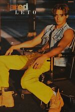JARED LETO - A3 Poster (ca. 42 x 28 cm) - 30 Seconds to Mars Clippings Sammlung