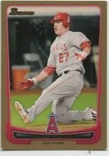 MIKE TROUT 2012  BOWMAN  GOLD #34 EX HAS TWO DINGS ON THE BOTTOM CORNERS