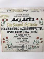 Sound Of Music Mary Martin Original Broadway Cast LP Vinyl Record Album 1959