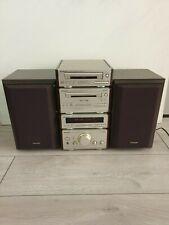 TECHNICS Stereo Lettore CD di installazione completa SINTONIZZATORE LETTORE DI CASSETTE Amp Altoparlanti Plus