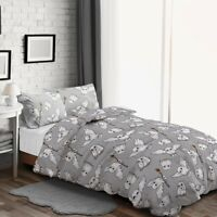 Warner Brothers Harry Potter Fleece Duvet Cover Set and Pillowcase Single Double