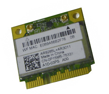 Wi-Fi WLAN WIRELESS CARD NETZWERKKARTE DELL MINI PCI-E 0P15M5 A1D-03PS A00 D46