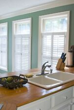 Handmade made to measure plantation shutters £199 Per Metre and Full Support