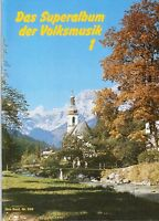 Akkordeon Noten : Das Superalbum der Volksmusik 1 leichte Mittelstufe bis mittel