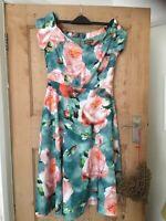 Stunning Jolie Moi floral bardot style dress size 12BNWT