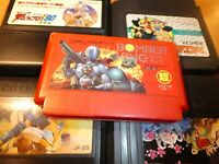 GAME/JEU FAMICOM NINTENDO NES JAPANESE BOMBER KING ROBO WARRIOR HFC BX ** #008